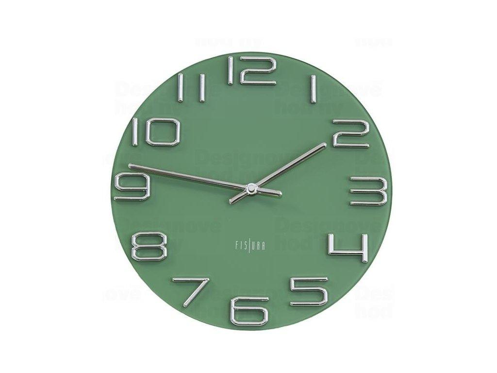Designové nástěnné hodiny CL0290 Fisura 30cm