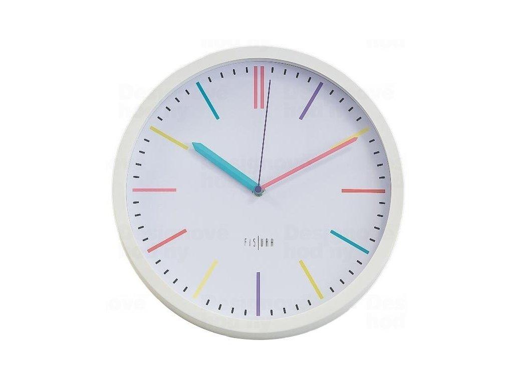 Designové nástěnné hodiny CL0294 Fisura 30cm