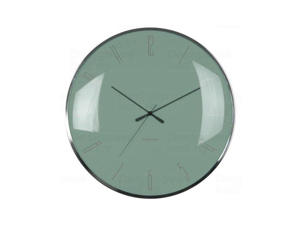 Designové nástěnné hodiny 5623GR Karlsson 40cm