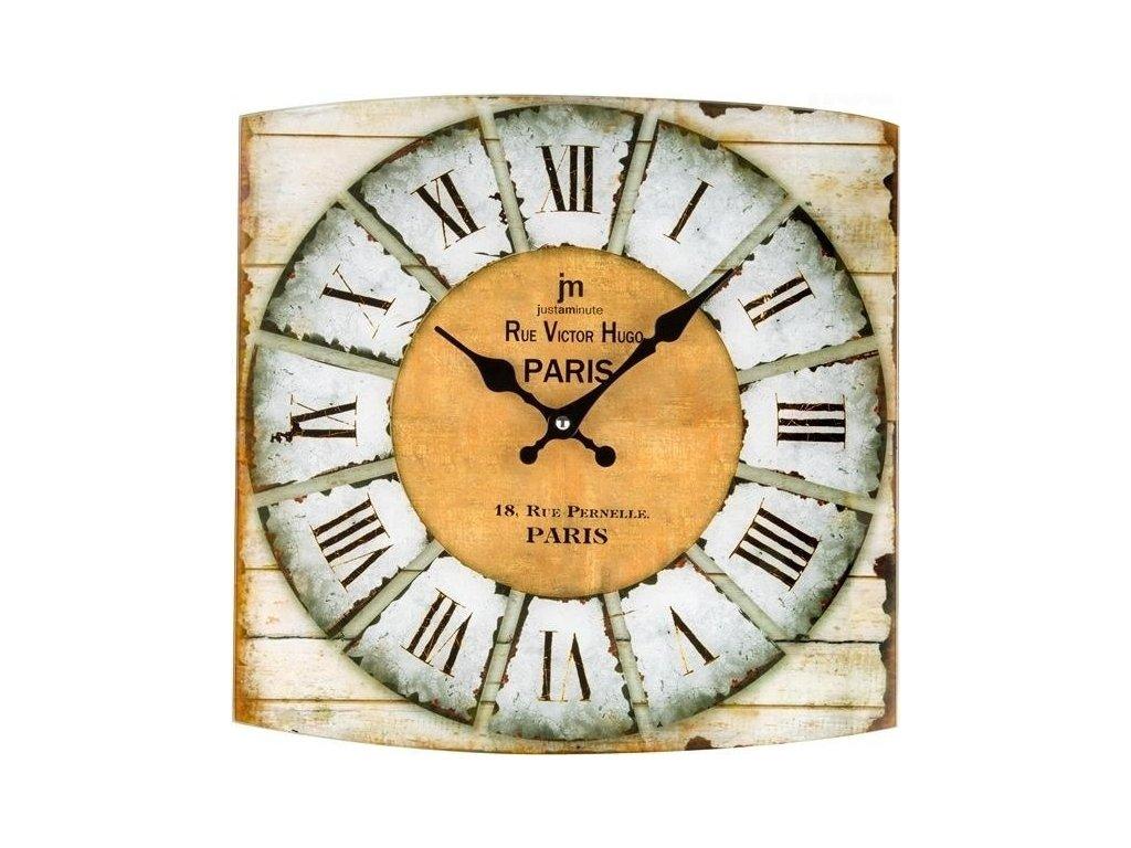 Designové nástěnné hodiny 14876 Lowell 34cm