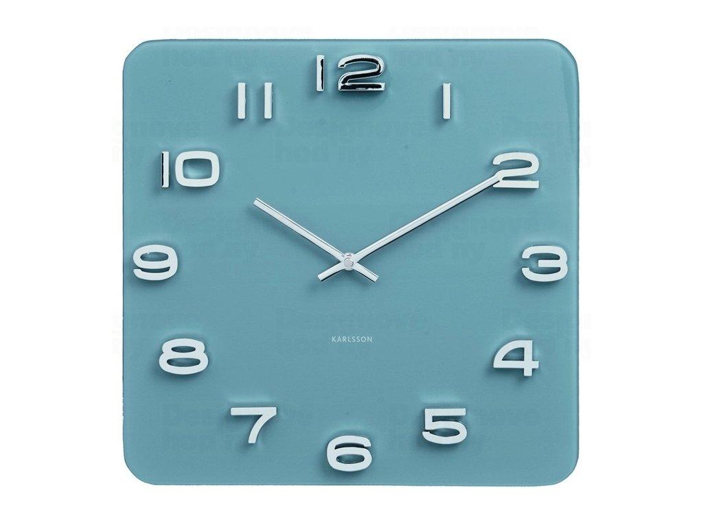 Designové nástěnné hodiny 5641BL Karlsson 35cm