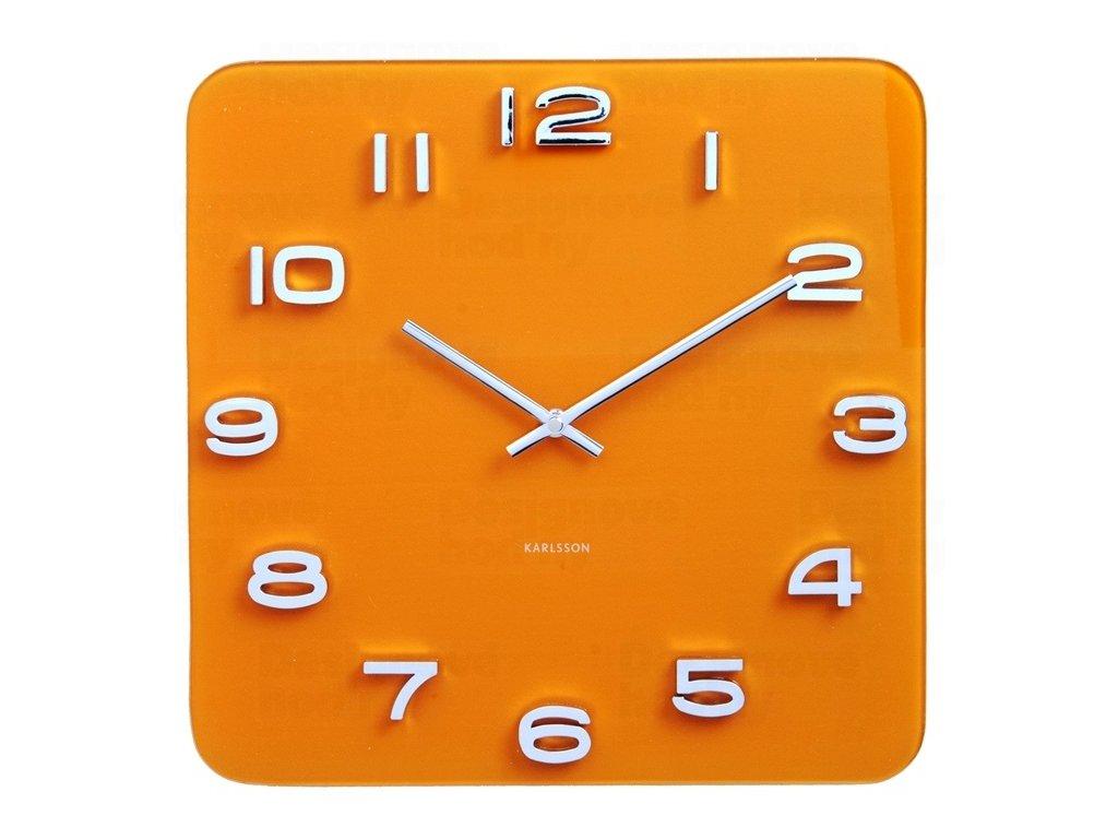Designové nástěnné hodiny 5641YE Karlsson 35cm