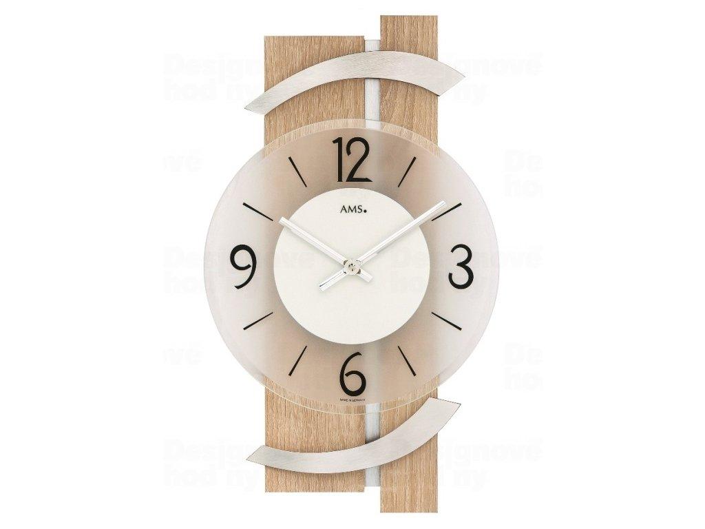 Nástěnné hodiny 9546 AMS 40cm