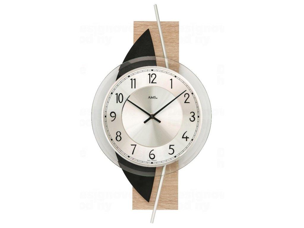 Nástěnné hodiny 9551 AMS 42cm