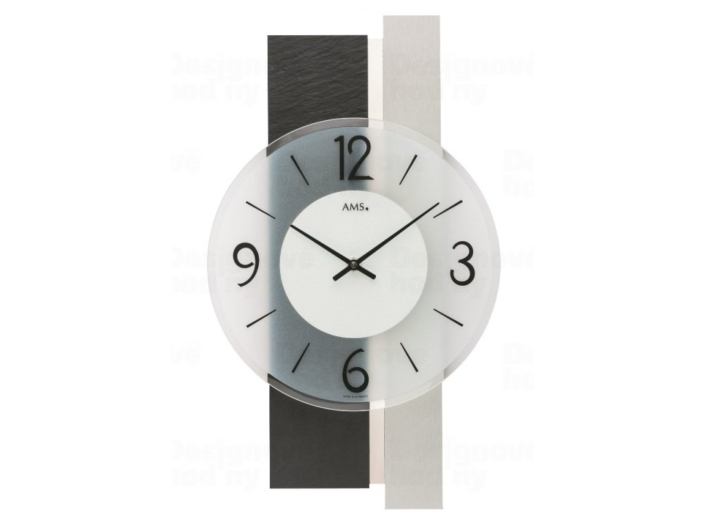 Nástěnné hodiny 9555 AMS 40cm