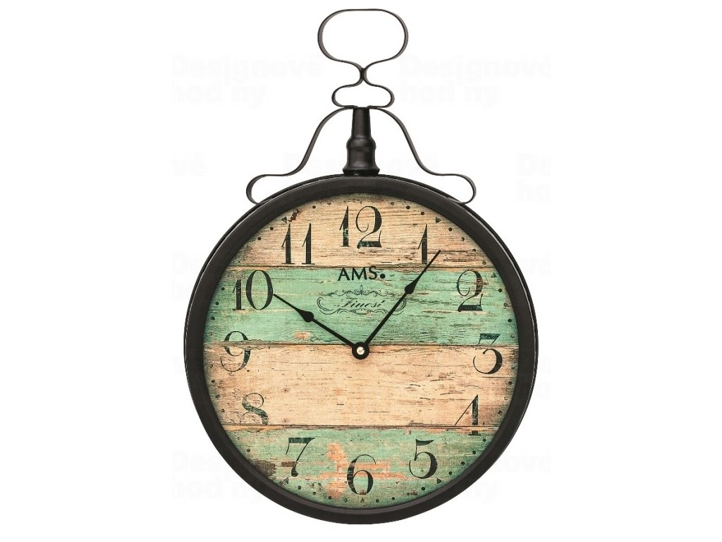 Nástěnné hodiny 9532 AMS 47cm