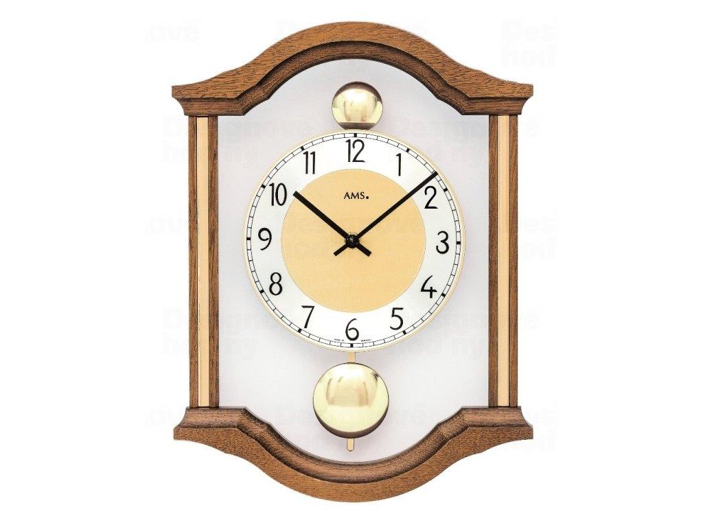 Kyvadlové nástěnné hodiny 7447/4 AMS 34cm