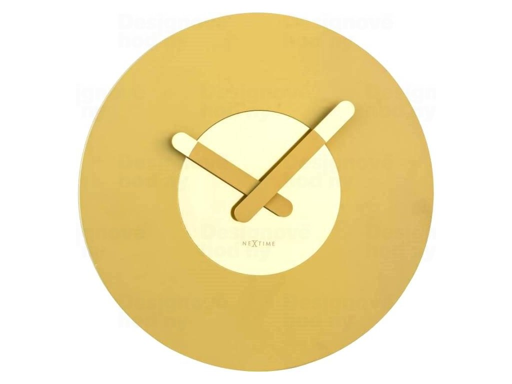 Designové nástěnné hodiny 3189go Nextime In Touch 40cm