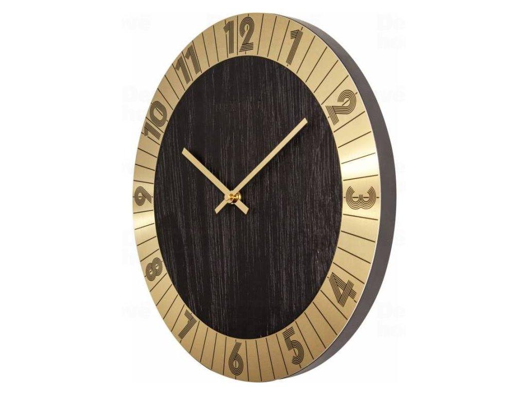 Designové nástěnné hodiny 3198go Nextime Flare 35cm