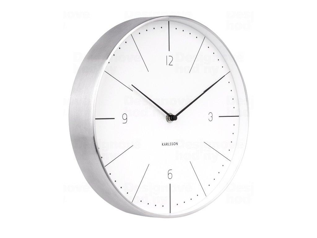 Designové nástěnné hodiny 5682WH Karlsson 28cm