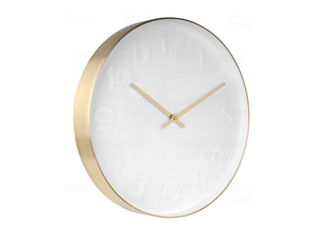 Designové nástěnné hodiny KA5679 Karlsson 38cm