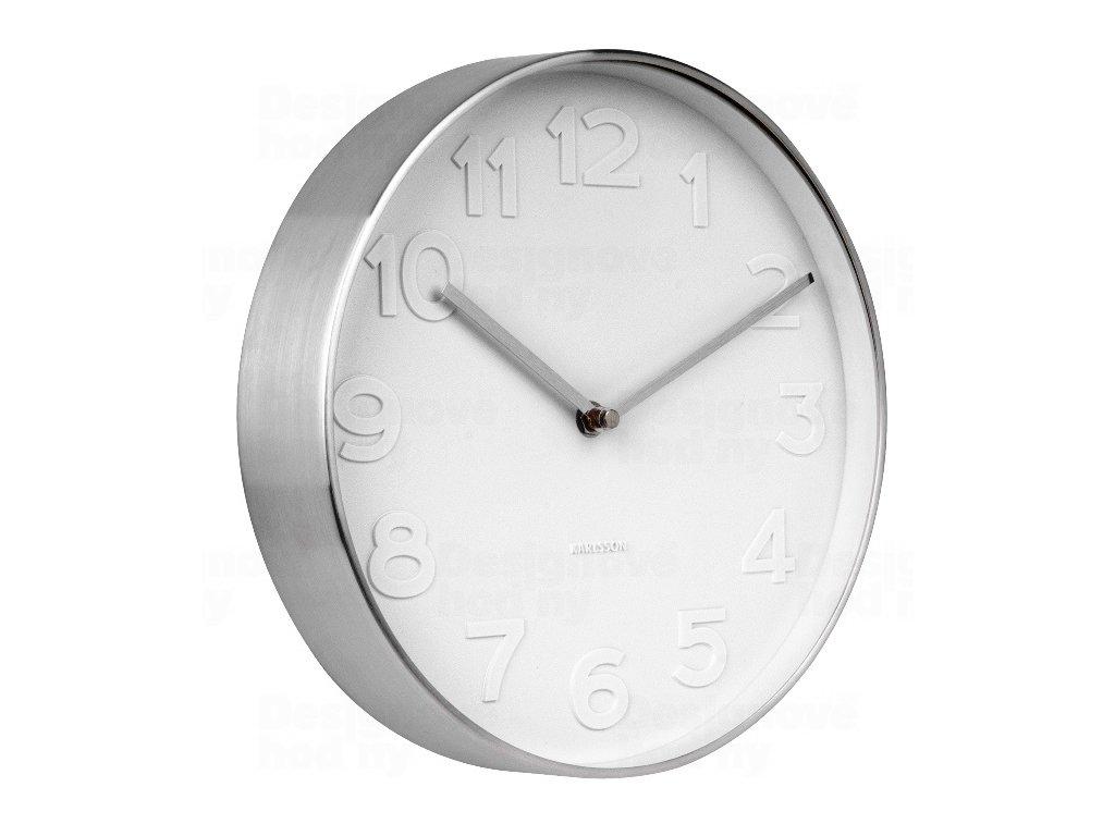 Designové nástěnné hodiny 5672 Karlsson 28cm