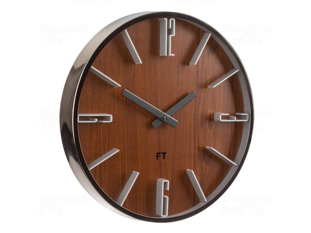 Designové nástěnné hodiny Future Time FT6010TT Numbers 30cm