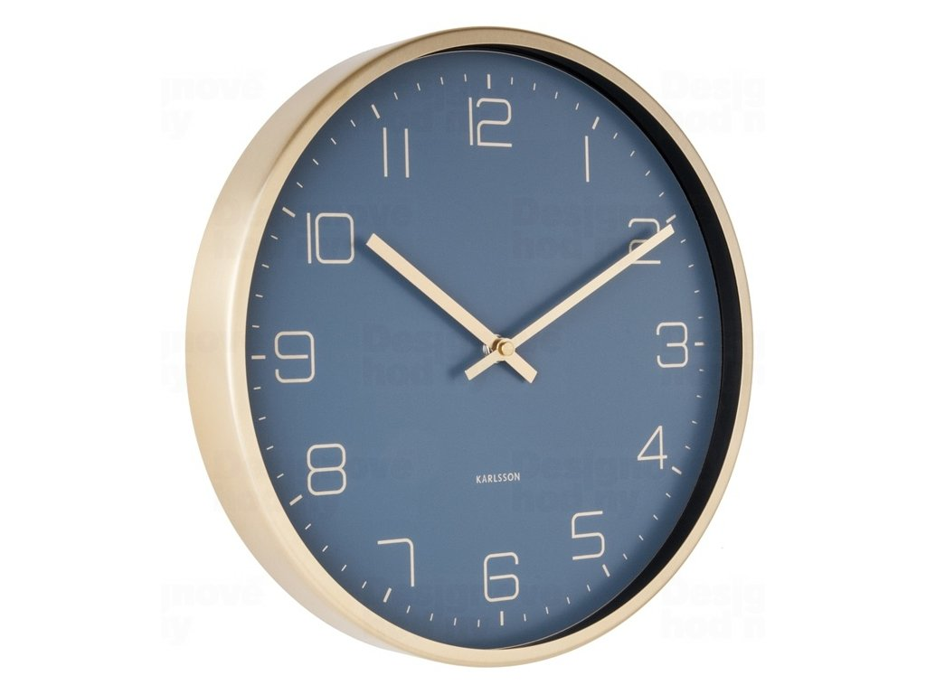Designové nástěnné hodiny 5720BL Karlsson 30cm