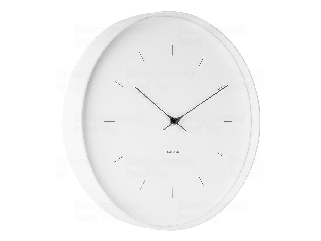 Designové nástěnné hodiny 5707WH Karlsson 37cm