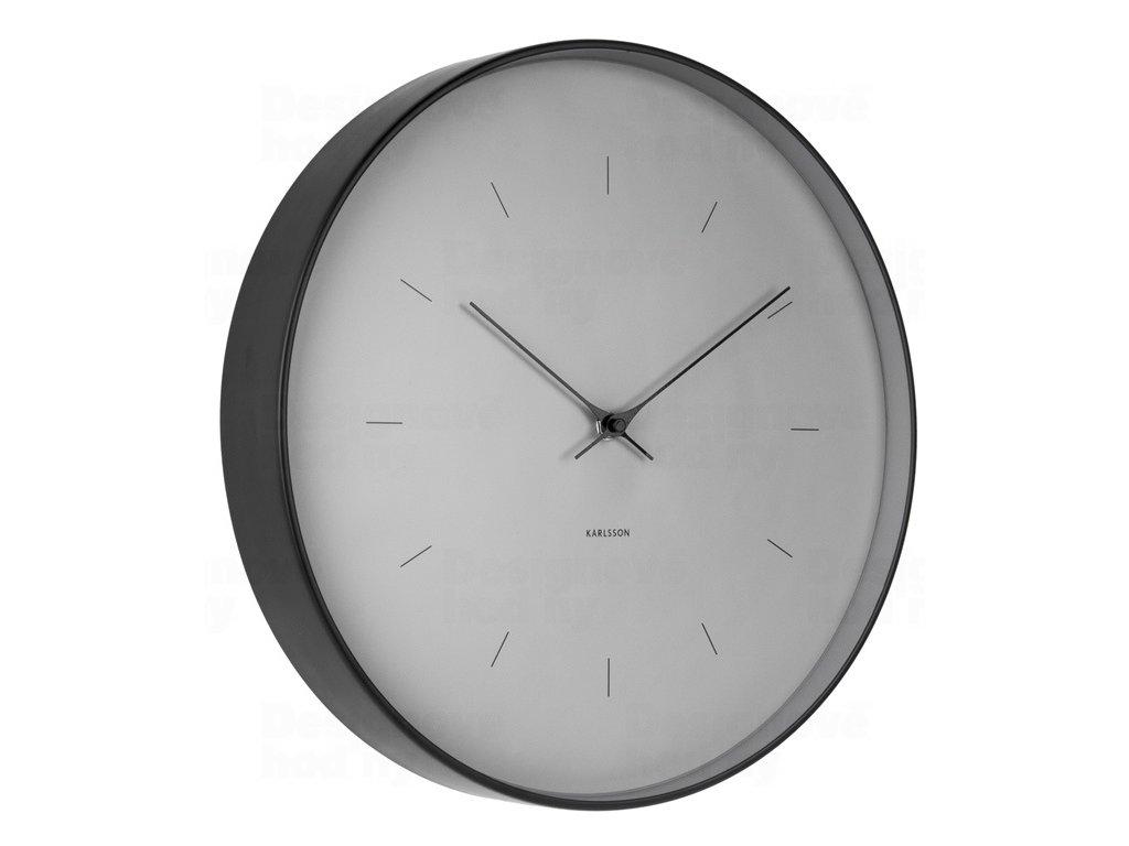 Designové nástěnné hodiny 5708GY Karlsson 27cm
