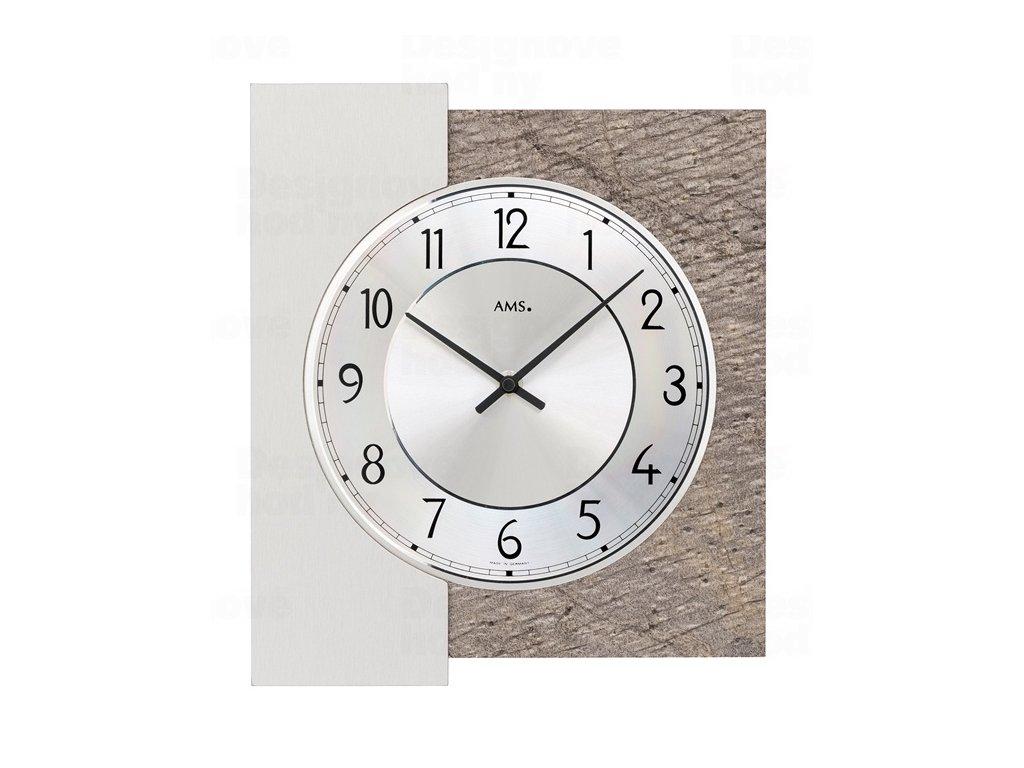 Designové nástěnné hodiny 9580 AMS 29cm
