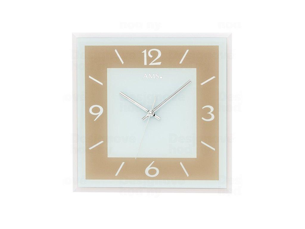 Nástěnné hodiny 9574 AMS 30cm