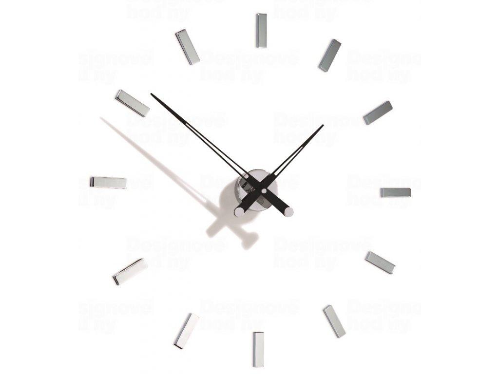 Designové nástěnné hodiny Nomon Tacon 12i black 73cm