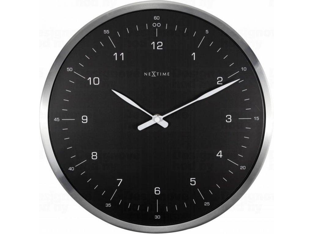 Designové nástěnné hodiny 3243zw Nextime 60 minutes 33cm