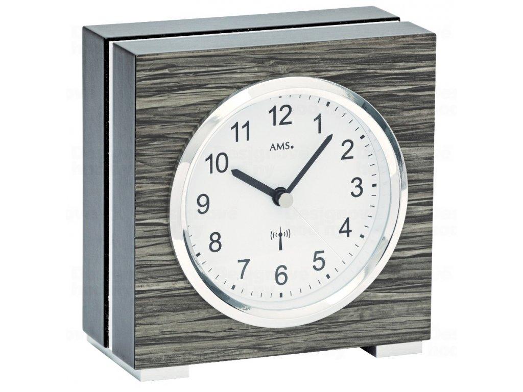 Stolní hodiny 5154 AMS řízené rádiových signálem 13cm