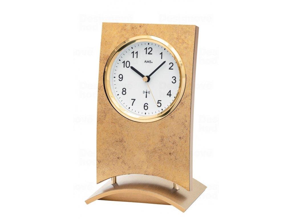 Stolní hodiny 5157 AMS řízené rádiových signálem 21cm