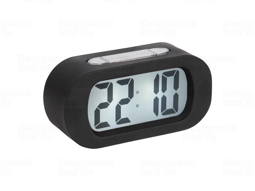 Stolní digitální hodiny-budík Karlsson KA5753BK