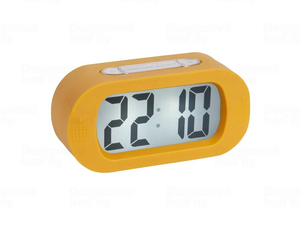 Stolní digitální hodiny-budík Karlsson KA5753YE
