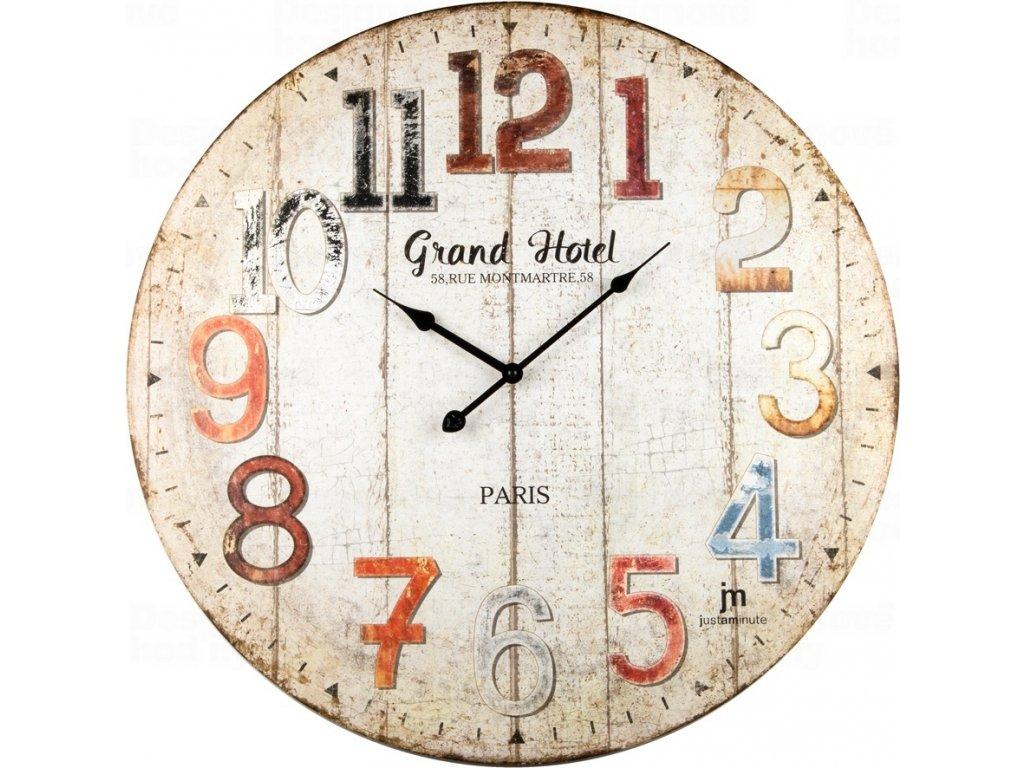 Designové nástěnné hodiny 21485 Lowell 60cm