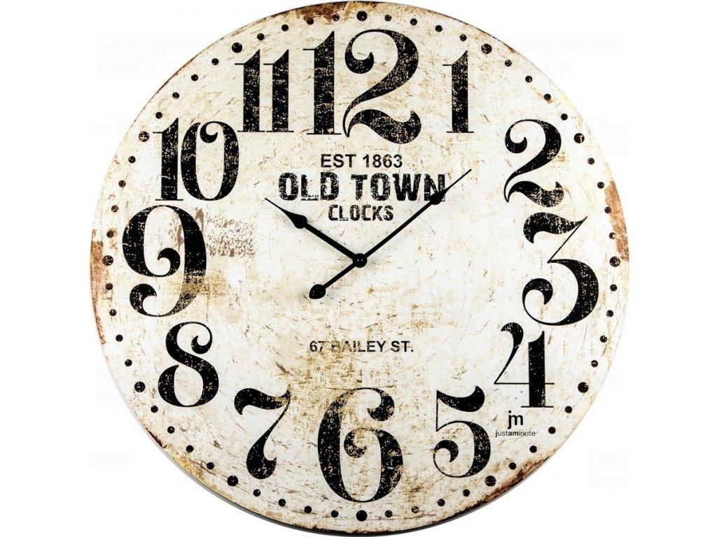 Designové nástěnné hodiny 21486 Lowell 60cm
