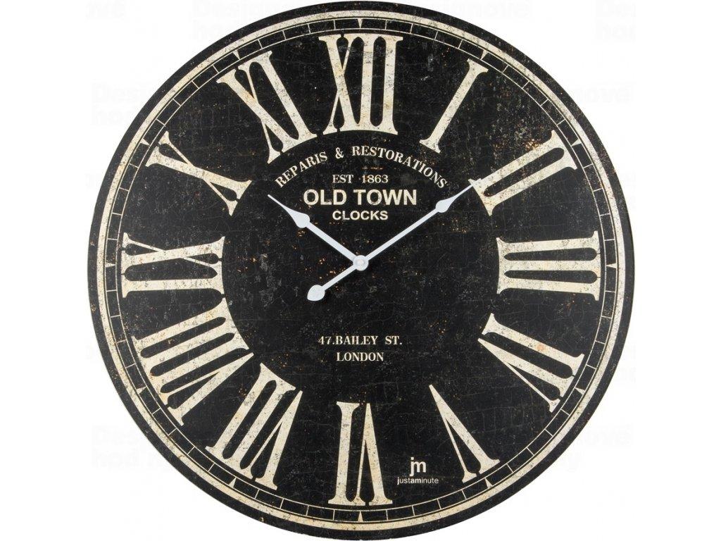 Designové nástěnné hodiny 21484 Lowell 60cm