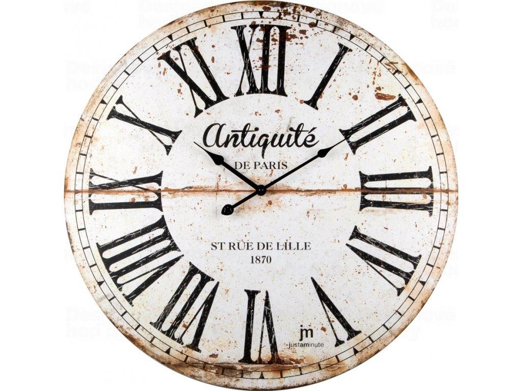 Designové nástěnné hodiny 21483 Lowell 60cm
