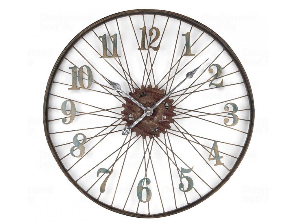 Designové nástěnné hodiny 21457 Lowell 60cm