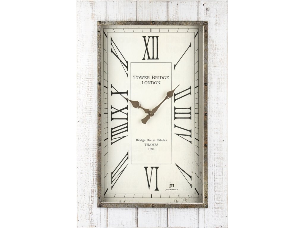 Designové nástěnné hodiny 21477 Lowell 60cm