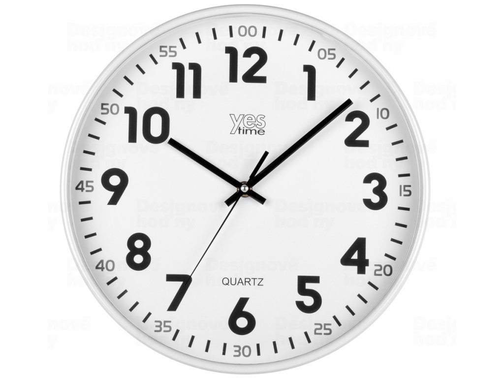 Nástěnné hodiny 00720B Lowell 30cm