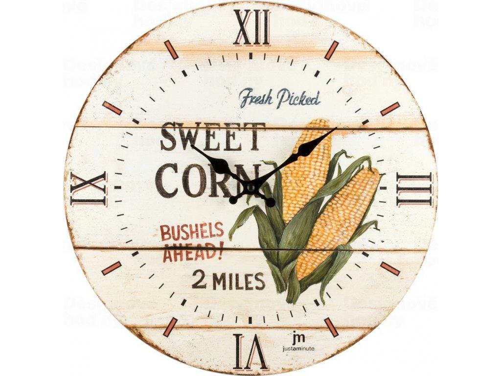 Designové nástěnné hodiny 21493 Lowell 34cm