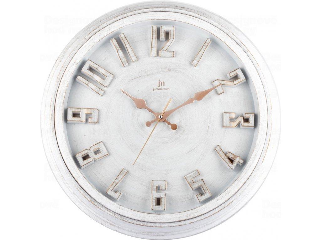 Designové nástěnné hodiny 00825B Lowell 40cm