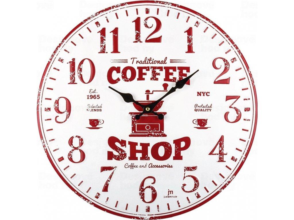 Designové nástěnné hodiny 21511 Lowell 40cm