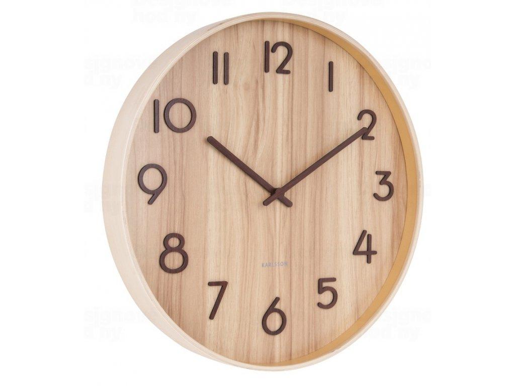 Designové nástěnné hodiny 5809WD Karlsson 40cm