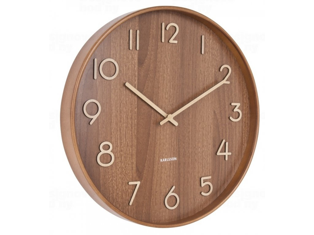 Designové nástěnné hodiny 5809DW Karlsson 40cm