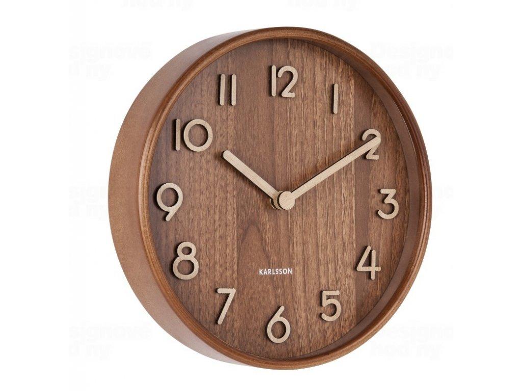 Designové nástěnné hodiny 5808DW Karlsson 22cm