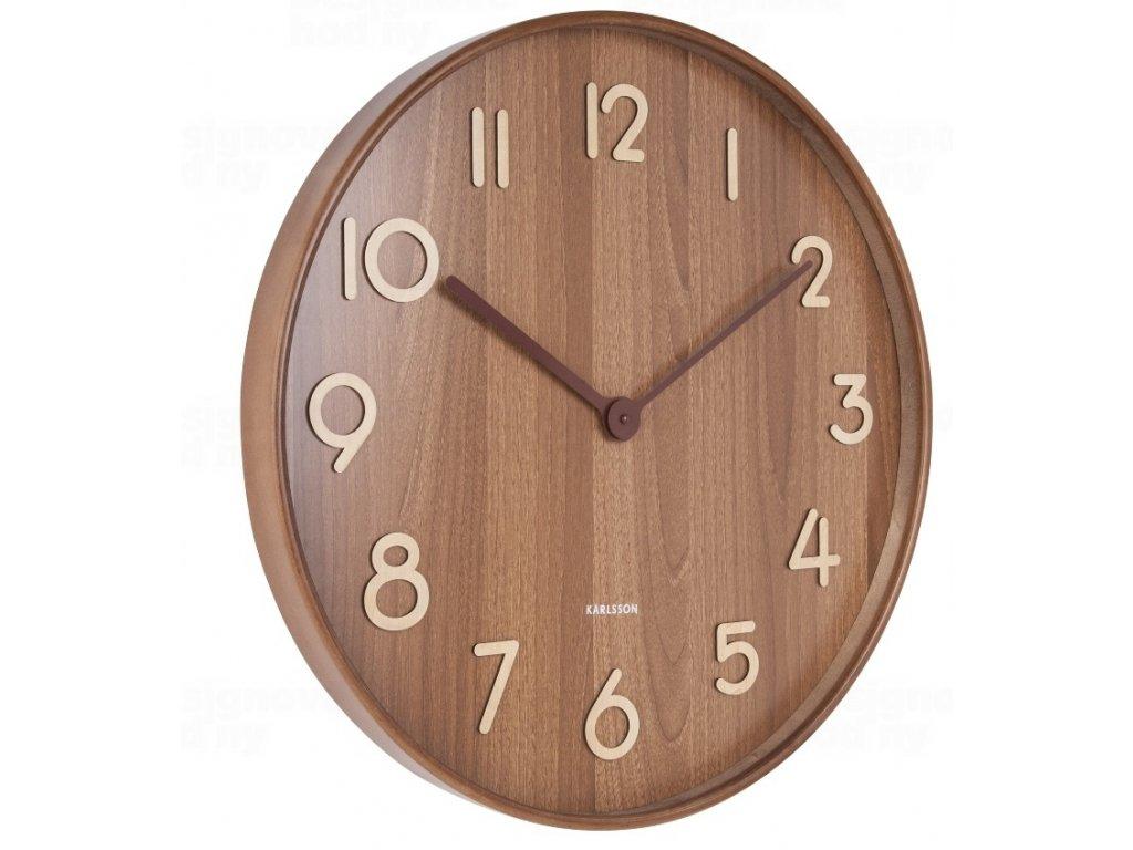 Designové nástěnné hodiny 5810DW Karlsson 60cm