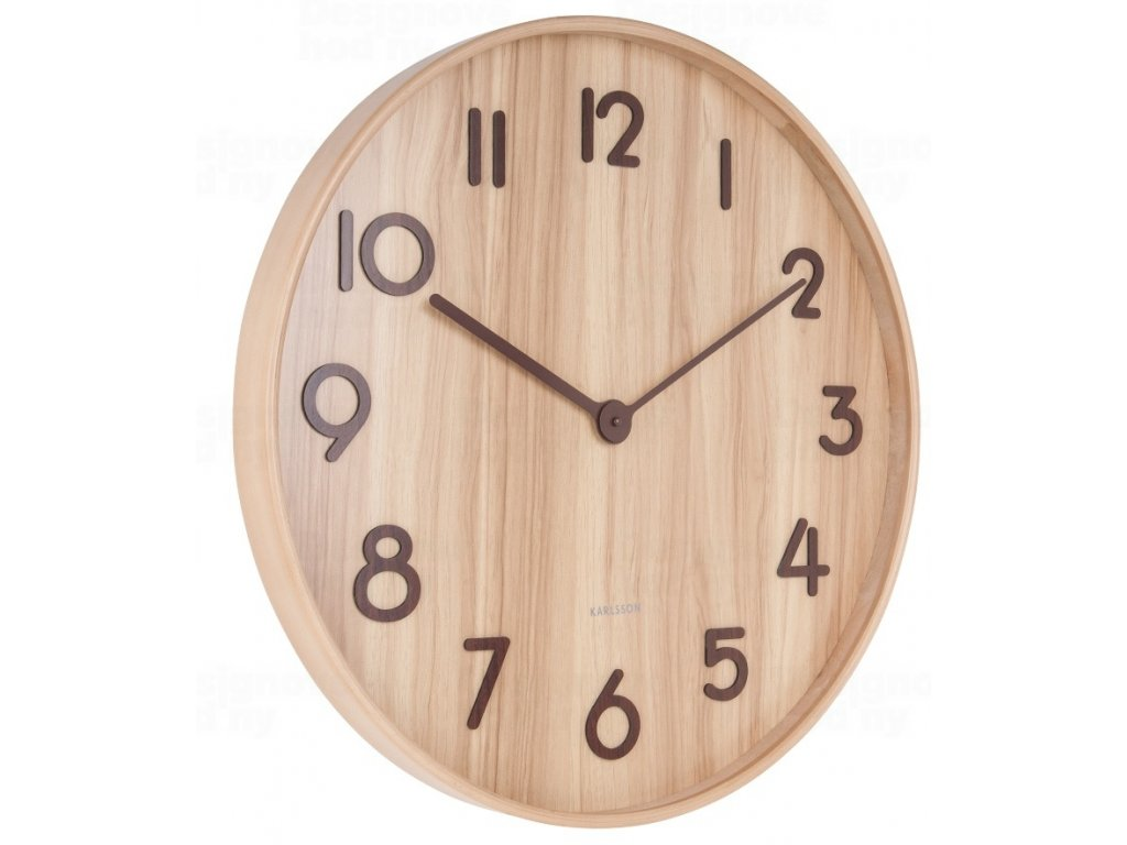 Designové nástěnné hodiny 5810WD Karlsson 60cm
