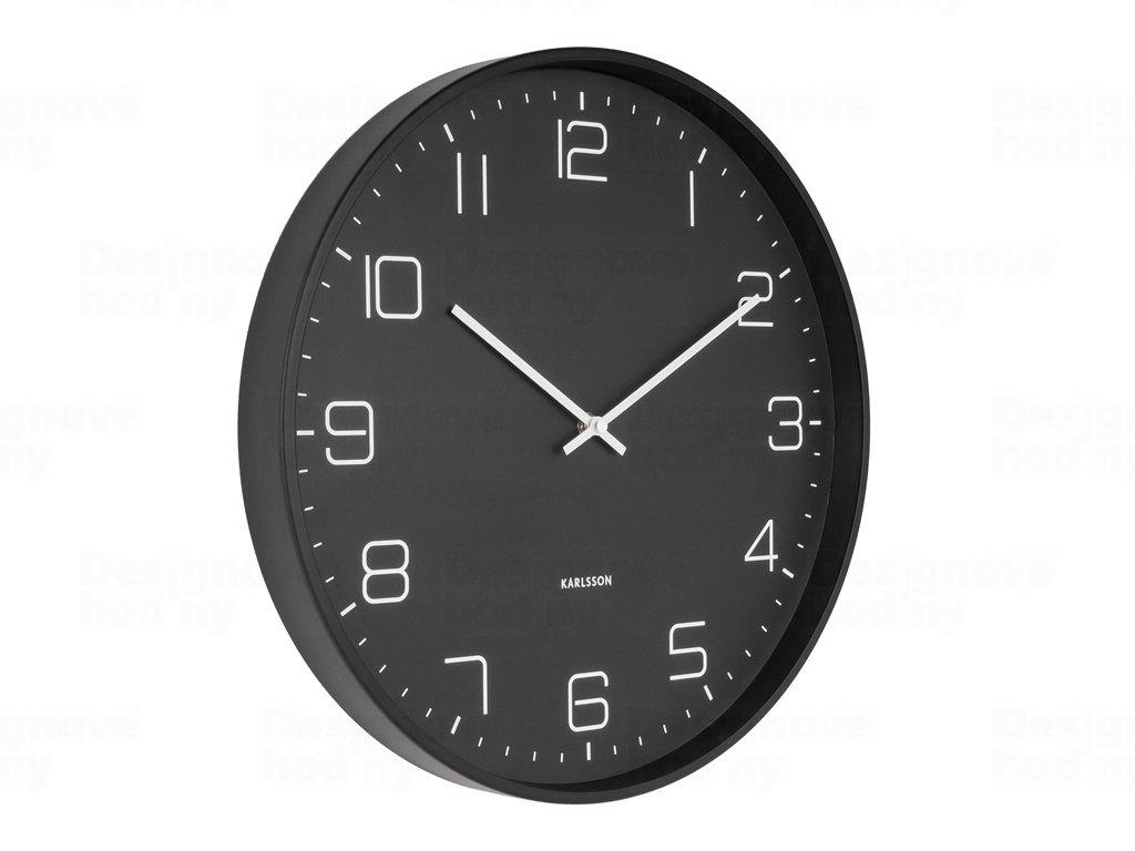 Designové nástěnné hodiny 5751BK Karlsson 40cm