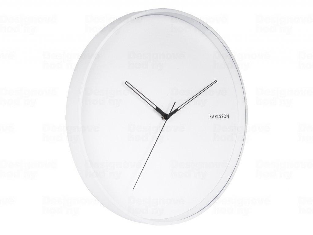 Designové nástěnné hodiny 5807WH Karlsson 40cm