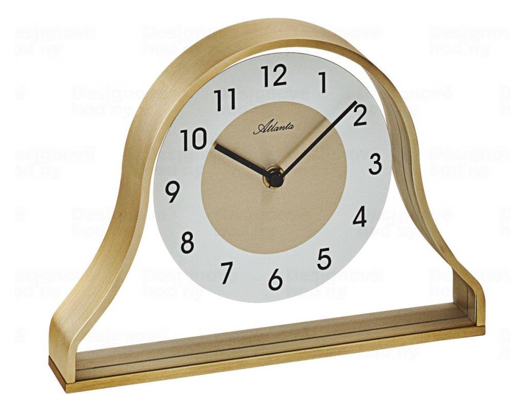 Designové stolní hodiny AT3125 Atlanta 24cm