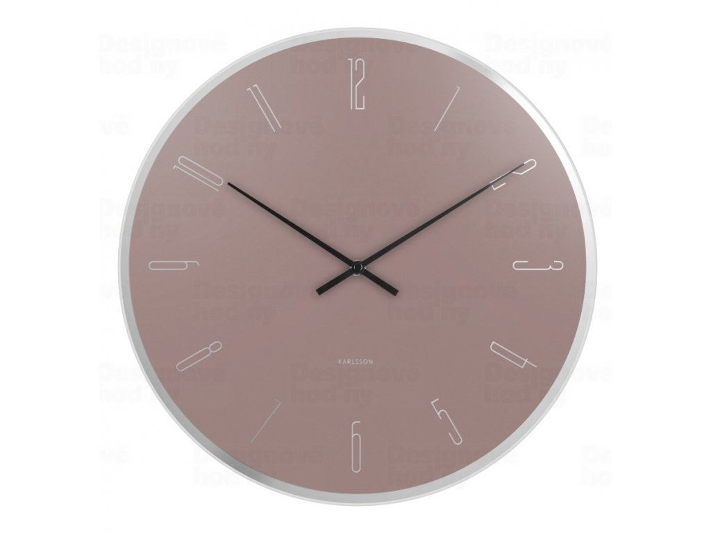 Designové nástěnné hodiny 5800PI Karlsson 40cm