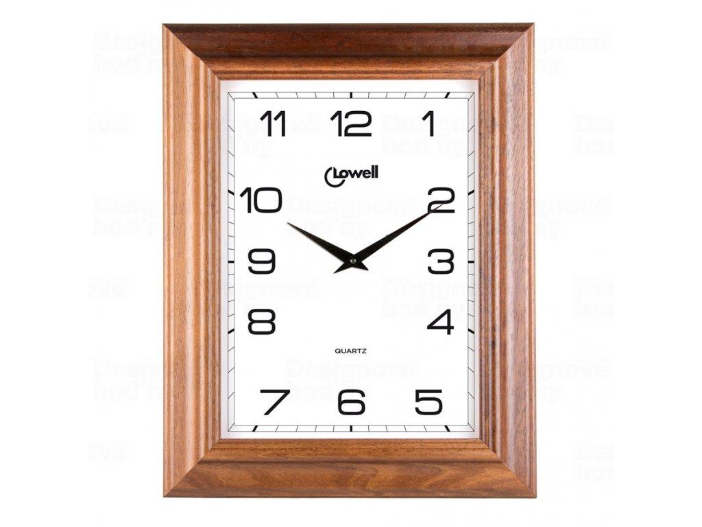 Designové nástěnné hodiny 03502 Lowell 60cm
