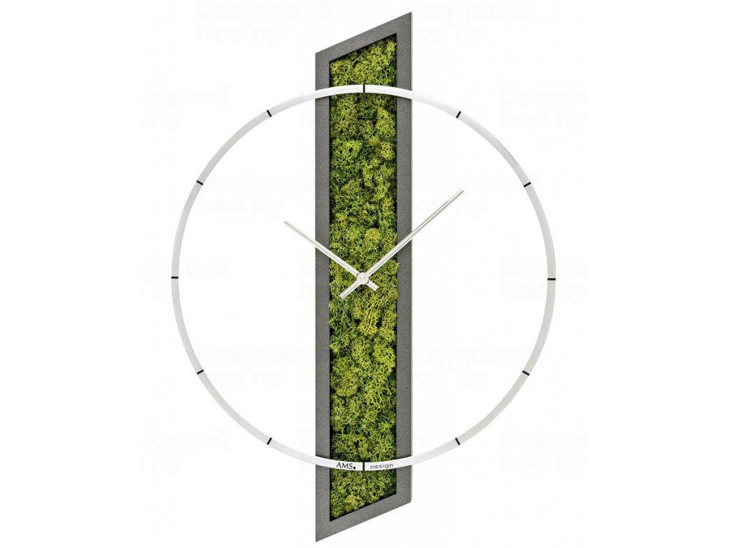 Designové nástěnné hodiny 9605 AMS 55cm