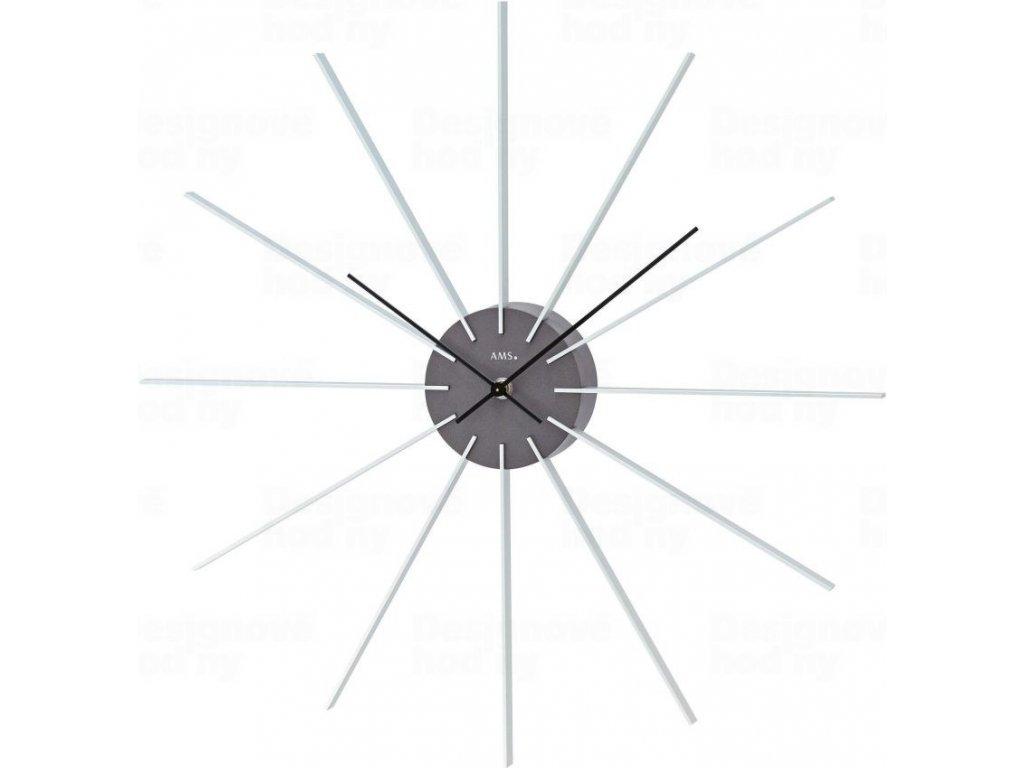 Designové nástěnné hodiny 9595 AMS 50cm